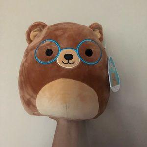 "NWT 8"" Baron the Bear Squishmallow"